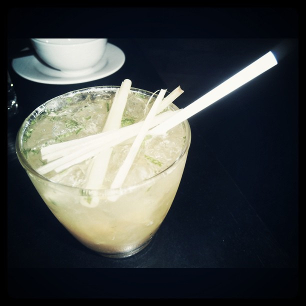 #yb #Sydney #redlantern #surryhills #Vietnamese #halong #mandarin #mule :  a generous lashing of mandarin #vodka with mandarin and ginger liqueur muddled with spiced mandarins, #ginger, #mint, built with #ice and finished with ginger #beer #cocktail (Taken with instagram)