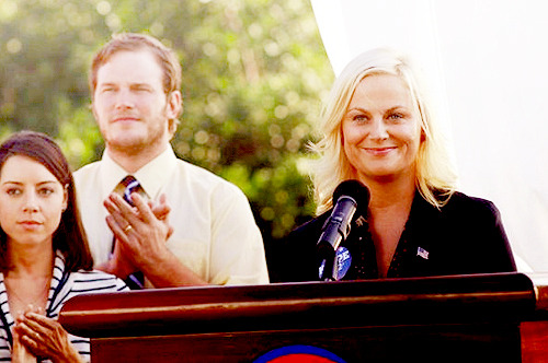 """I'm Leslie Knope"" 