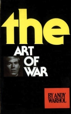 markmcevoy:  THE ART OF WAR, 2011 altered book