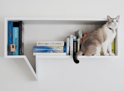 Kind of a fun bookshelf. Love, Nik