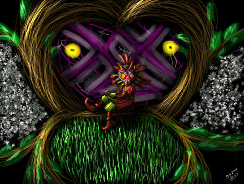 Wickidness of majoras mask - by Rowan Verschuren  deviantART || Fanart-Central