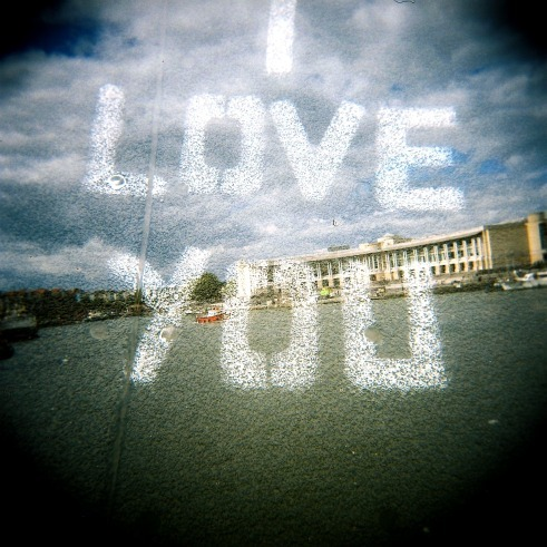 I love you Bristol September 2011