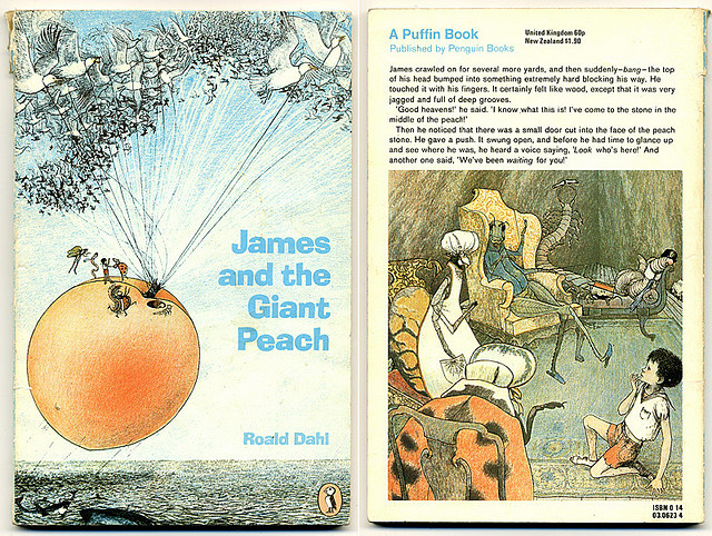 James and the Giant Peach by moonflygirl on Flickr.