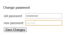 pinboard.in - When changing your password, the new password text box uses a low contrast font and forgoes the typical type-your-password-again pattern. /via Lenny Sirivong