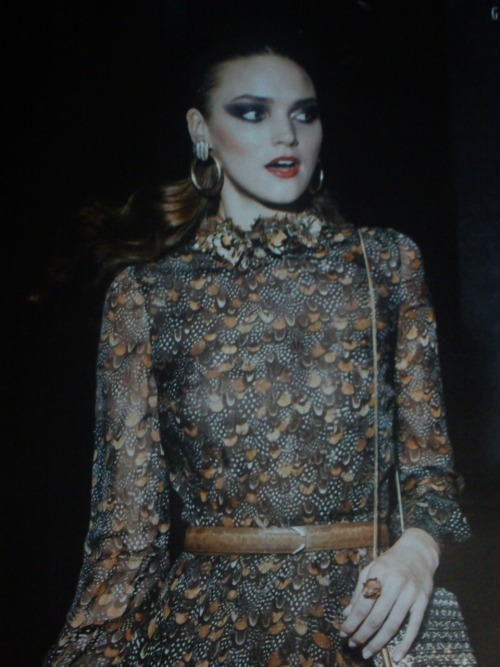 The new issue of Grazia is out today. I'd like this Valentino dress from the fashion shoot. Photographer Benjamin Kaufmann Fashion Editor Andrew Holden Model Nika Lauraitis at Next Models www.graziadaily.co.uk