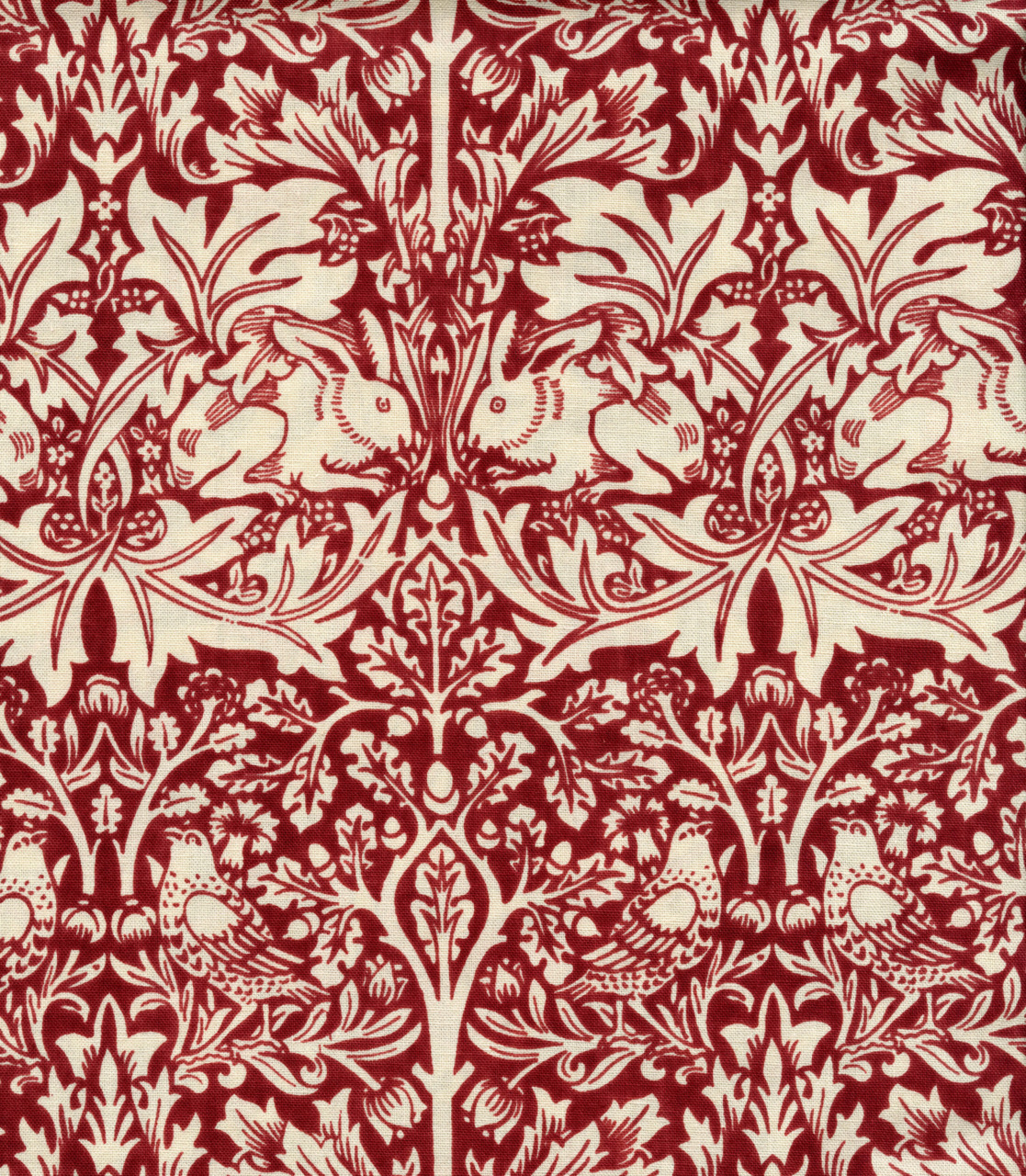 michaelcharles:   Brother Rabbit by William Morris. Reproduction by Scalamandre.