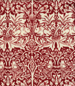 ailailail:  Brother Rabbit by William Morris. Reproduction by Scalamandre.