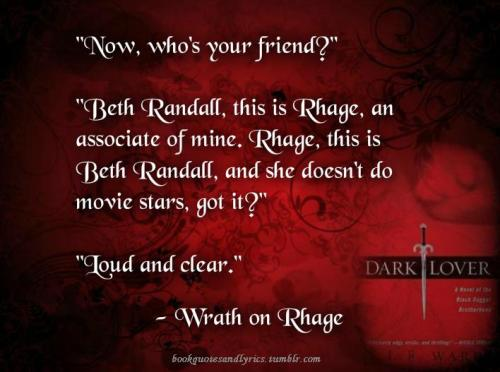 bookquotesandlyrics:  Dark Lover Black Dagger Brotherhood
