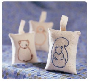 Learn how to make these adorable animal pin cushions!For instructions, click here!