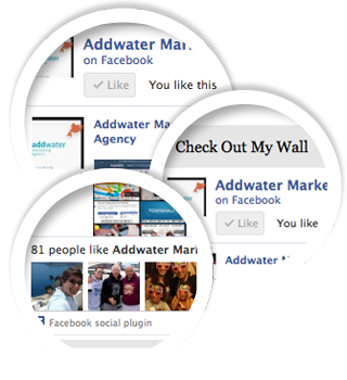 "Addwater Facebook Fan Page widget Great for businesses and socially active users! Get Likes and new Fans right from your blog. The Facebook Fan Page widget is perfect for businesses, entertainment groups and start-ups.  Thoughtfully designed to blend well with your Tumblr theme, the Facebook Fan Page widget displays your Wall posts, Fans and of course a link to your Fan Page – an easy way to build your Fan base. Premium Facebook Fan Page Use this widget to show your Facebook wall stream within your Tumblr blog Let everyone ""Like"" your Facebook page directly from your Tumblr blog Show people profile images of users who like your Facebook page Turn streaming, profile images, and like buttons on and off with a click of the mouse. Facebook Fan Page Lite A lighter version of the Facebook Fan Page. Lets you display fan page's ""Like"" botton in your blog, but no stream or user portraits For the best experience use Facebook Fan Page Widget. (via All Widgets 