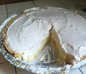 findvegan:  Coconut Cream Pie