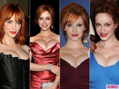 It's kinda hard not to stare, but Mad Men star Christina Hendricks sure does have beautiful… eyes!