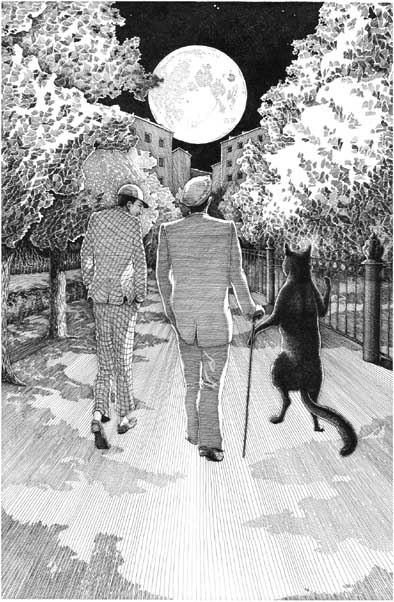 illustration for 'the master & margarita' by mikhail bulgakov