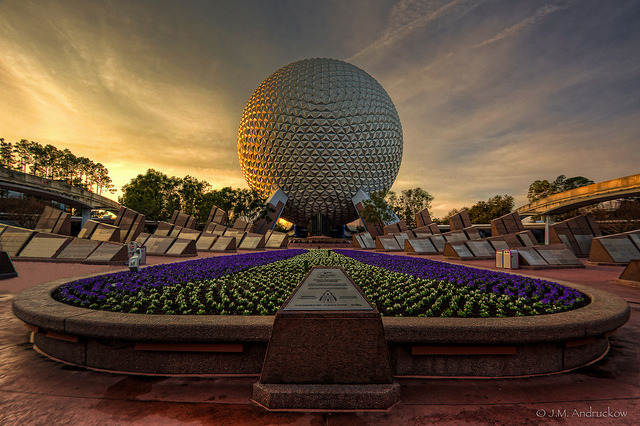Good Morning Epcot Center! by -Jamian-