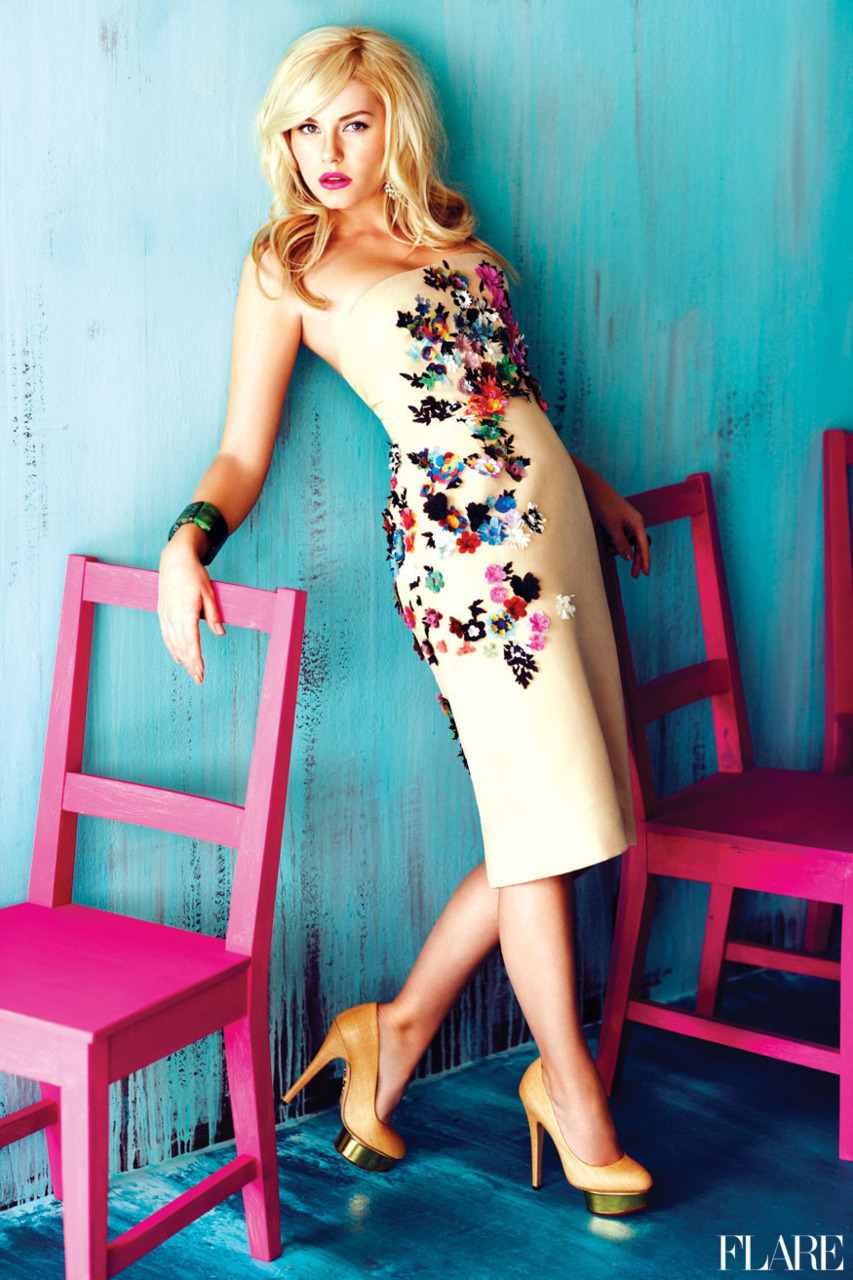 Happy Birthday Elisha Cuthbert! - July 2011/ Fashion Director: Elizabeth Cabral / Art Director: Tanya Watt / Photographer: Chris Nicholls Click here to see more snaps from our archive.