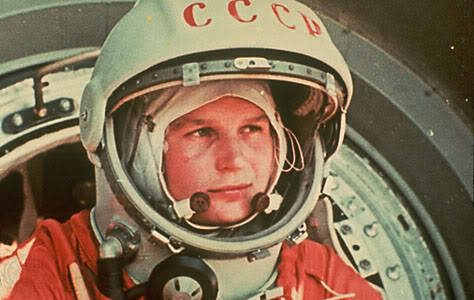 myfavoritebitches:  Valentina Tereshkova - one spacey bitch. A proletariat that worked in a textile factory and parachuted for funsies, this lady was one of the five chosen by the Soviet space program. She joined up with the USSR Air Force and then became a cosmonaut in the 1960s. In 1963, the Soviets decided to send her to space on the Vostok 6. This bitch put the American space program to shame, logging more space hours than any American astronaut had at that time having spent three days (48 orbits) out of the atmosphere. At 26 she became the first and only fucking lady in space for nineteen years. Still alive and kickin' at 74 in Russia, this bitch has won pretty much all of the honors and has been elected to a bunch of committees.