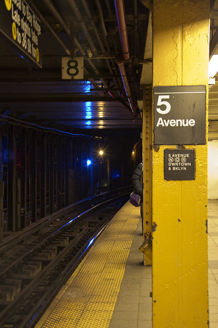 5 Avenue on Flickr.SUBWAY