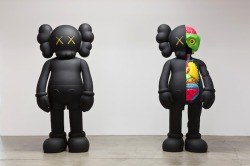 "KAWS' ""Hold The Line"" Exhibition"