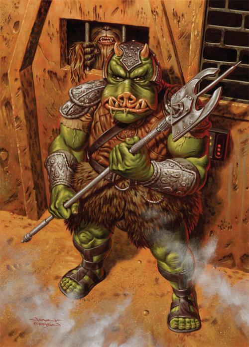 boba-fettish:  Gamorrean Guard by Jason Edmiston.