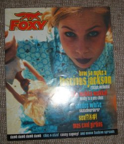 foxy 'zine from the 90s