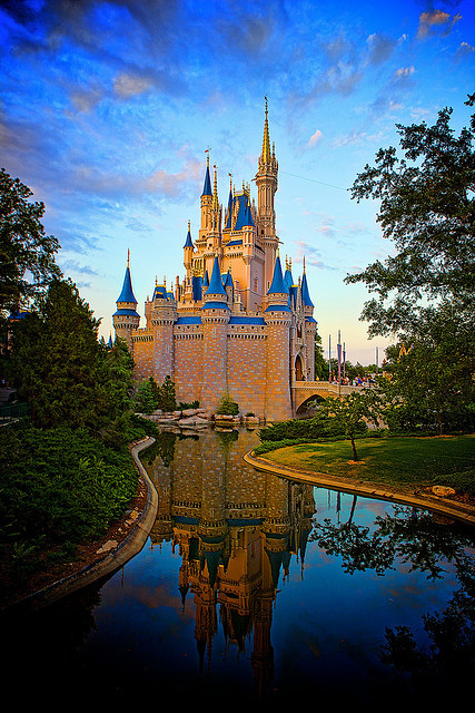 """Magic Kingdom - Cinderella's Castle""by Matt Pasant"