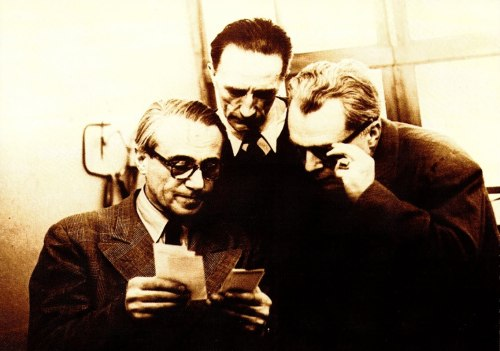 Hans Richter, Marcel Duchamp, and Richard Huelsenbeck