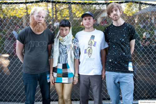 chonasaur:  little dragon backstage at bumbershoot september 2011, seattle  beard