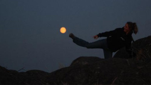 king5news:Lunar kick ball! More photos of our beautiful Harvest Moon