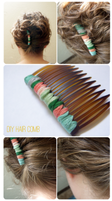 holly-go-brightly:  DIY hair comb, this is gorgeous! http://lemonjitters.blogspot.com/2011/09/diy-hair-comb.html