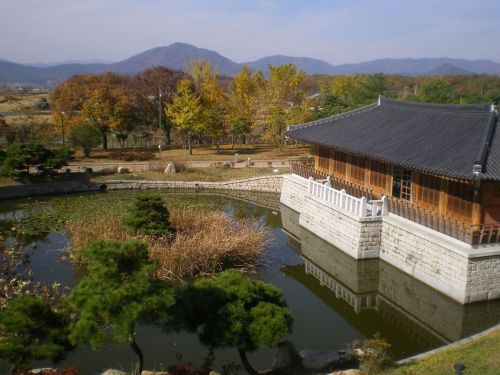 Anapji Gyeongju, South Korea