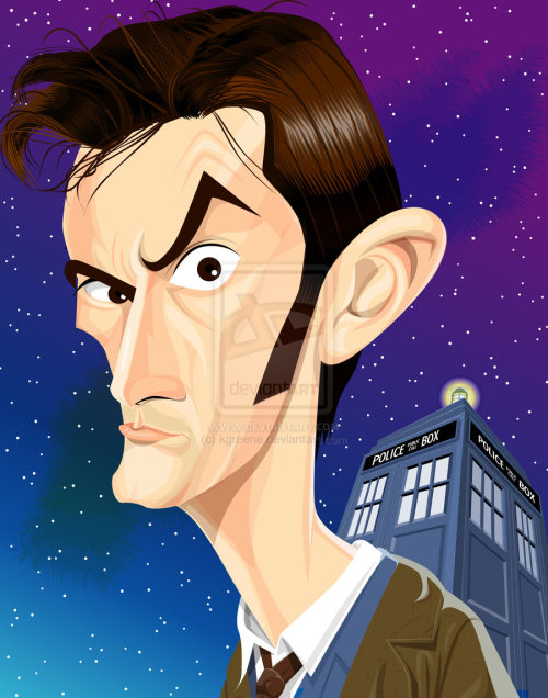 The 10th Doctor by *kgreene