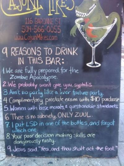 #bartender truths