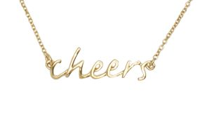 agapi-ahk:  Kate Spade | Cheers Necklace