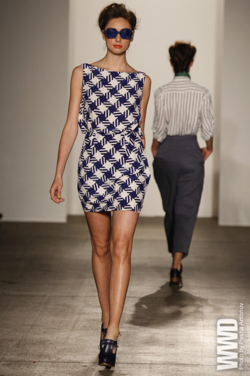 Gorgeous!  womensweardaily:  Karen Walker RTW Spring 2012