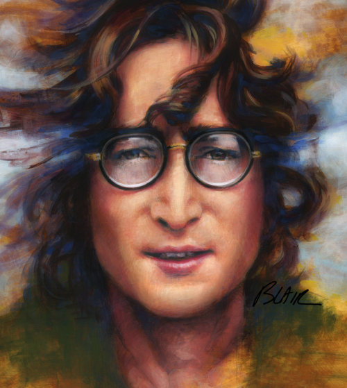 segovialex:    John Lennon  Words are flying out like endless rain into a paper cup They slither while they pass They slip away across the universe Pools of sorrow waves of joy are drifting thorough my open mind Possessing and caressing me. Nothing's gonna change my world.  I know that people have their religions, and I'm happy for them, but I can't connect.  I can't believe.  I love John because he was real.  And because he understood pain, and he was able to write music that people could connect to.  He's been gone 40 years, but I still feel like he's here for me.  I love him.