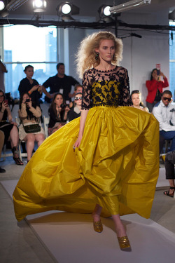 calivintage:  the first look to walk down the oscar de la renta runway. spring 2012. epic. by calivintage.