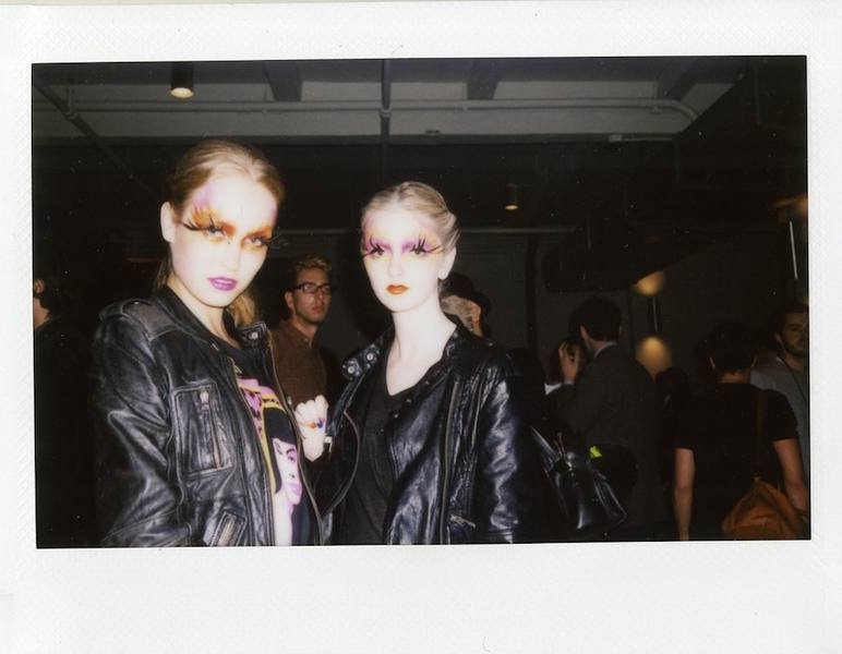 Erickson Beamon Models Check out more Instax snaps on the Kanon blog! Photo by: Jessie Adler