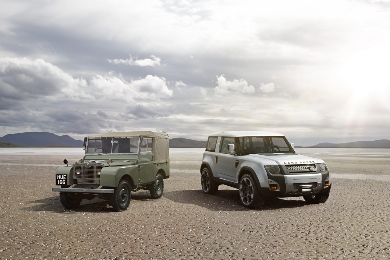 Land Rover Defender: Past and Future (vía Carscoop)