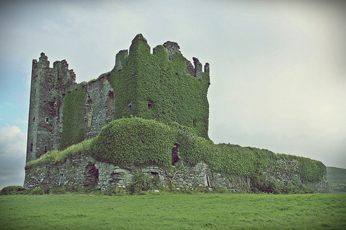 Ballycarbery Castle (by saintinexile)