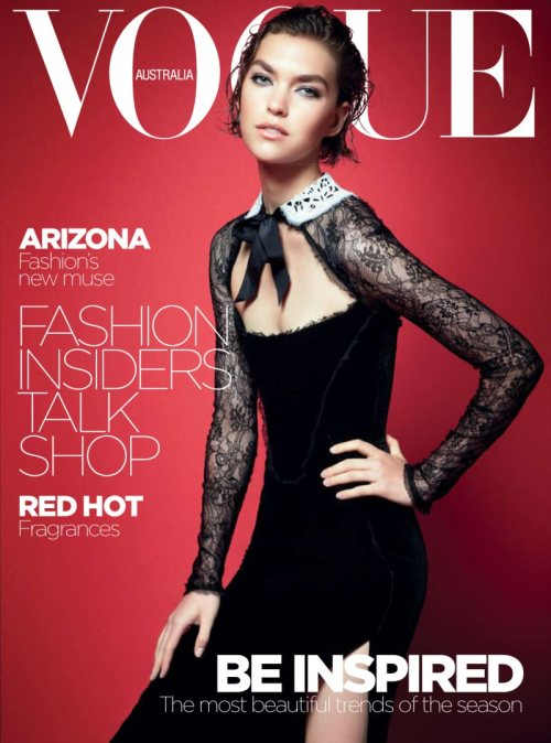 Vogue Australia October 2011 - Arizona Muse