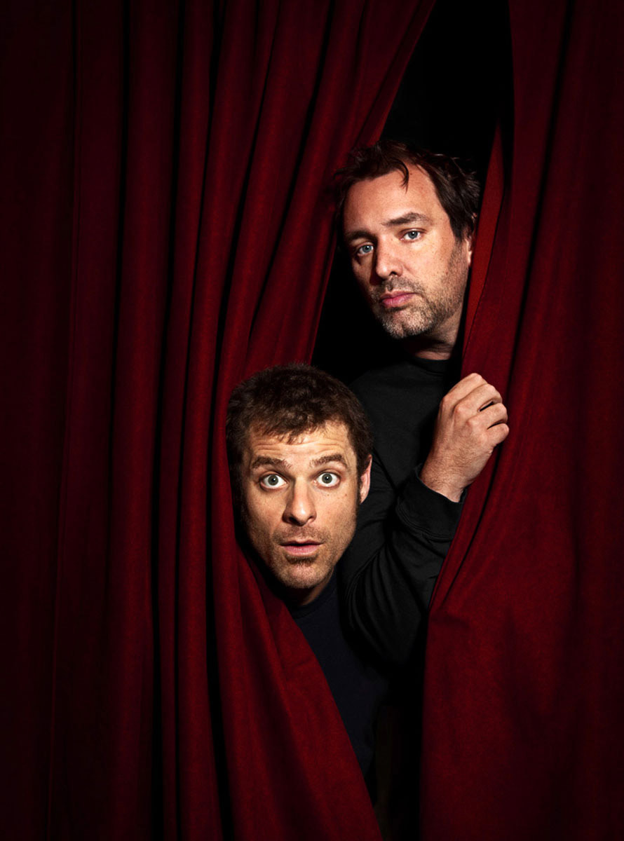 Trey Parker & Matt Stone by Jake Chessum