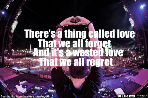 flashinglightsandecstasy:  Above & Beyond - Thing Called Love