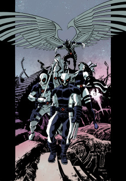 UNCANNY X-FORCE colour by ~DeclanShalvey