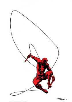 Daredevil Pin-up by ~DeclanShalvey