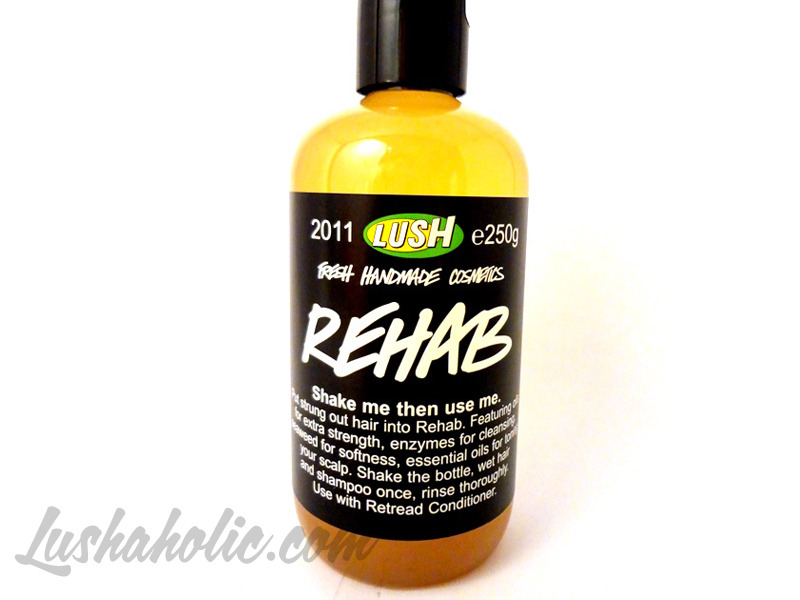 Rehab Shampoo Review
