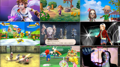 videogamenostalgia:  Videos of Upcoming 3DS Releases Missed a good chunk of what's to come? Kotaku's got you covered; videos of Paper Mario, Kid Icarus: Uprising, Fire Emblem, Animal Crossing, and much more are all there for lack of google-searching. Some personal notables: Kid Icarus: Uprising is looking better everytime I see it; I wanted Paper Mario after seeing this; Not sure if Shinrei Camera is a proper Fatal Frame-related game, but it looks amazing, regardless. Check them out!