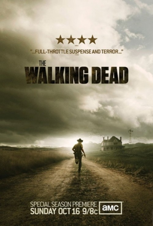 THE WALKING DEAD NEW SEASON POSTER….do you recognize that farm?