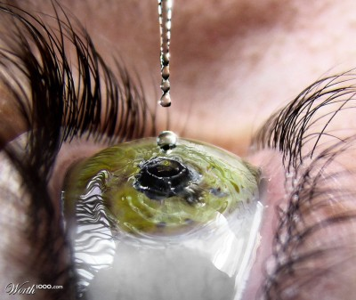 Title: Eye Drop (click through for original)   A gateway, to true heart, Beauty contained, unmatched by any precious stone, So little, yet, the vast sea, hidden inside, A blink, the soul revealed within, Suddenly, shielded by storm. - Ethan Paul