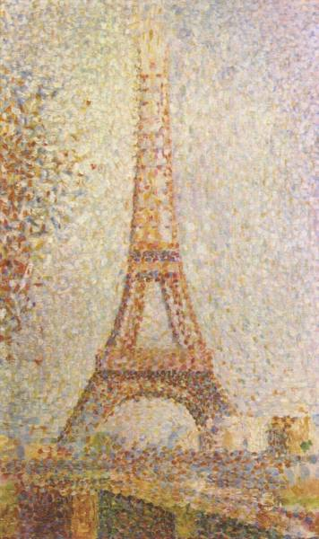 Georges SeuratTour Eiffel (The Eiffel Tower)oil on panel1889The Fine Arts Museums of San Francisco