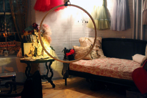 seedie-edgwick:  SARAH SOPHIE FLICKER'S BOUDOIR - This is exactly what I want my future apartment to look like.